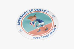 FFVOLLEY-HUGO&LILY-STICKER1