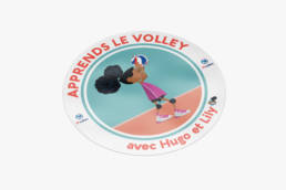 FFVOLLEY-HUGO&LILY-STICKER2